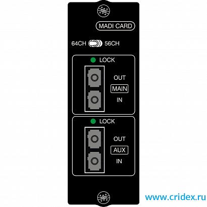 Карта оптического MADI интерфейса SOUNDCRAFT Si MADI option card